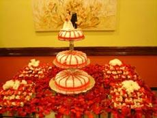 Mesa para bolo (detalhe)