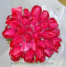 Bouquet de noiva com Florestulipa