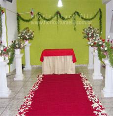 Opção de Decoração para Cerimonia e recepção no mesmo local. ...