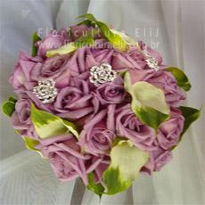 Bouquet de rosas equatorianas com calas