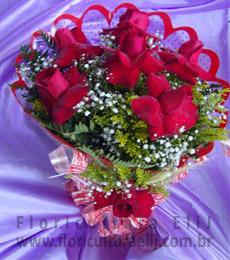 Boquet com 6 Rosas Colombianas